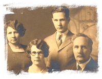 Shanes's Paternal grandmother (second from left) and her family